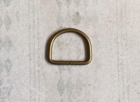 D-Ringen 30 mm Bronskleur