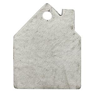 Leerlabel Huisje Graphite Grey