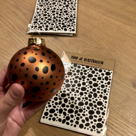 Pimp je kerstballen stickers dots - per 5 sets