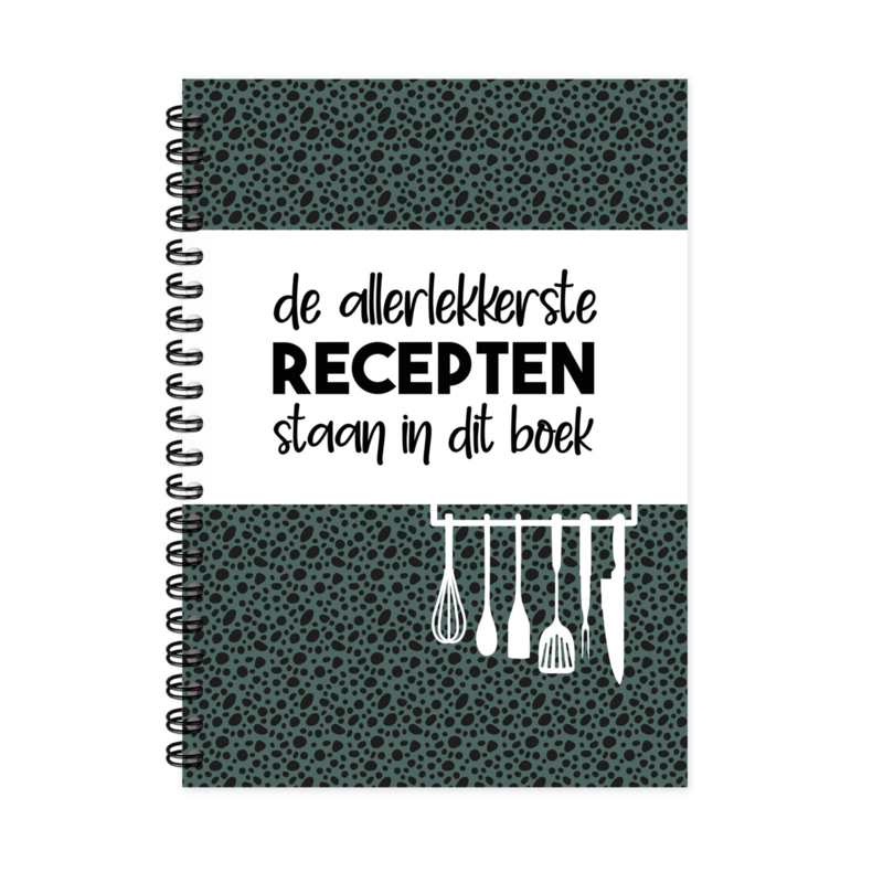 Receptenboek A5 per 3 stuks