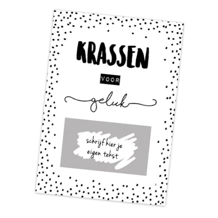 """Kraskaarten """"DIY - Geluk"""" per 5 stuks"""