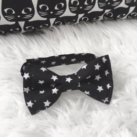 "Vlinderdasje ""monochrome stars"""