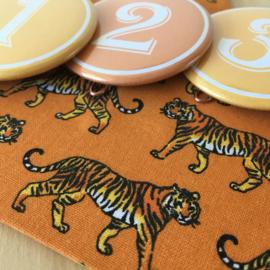 """Verjaardagskroon """"tigers"""""""