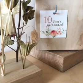 Label - 10 jaar getrouwd