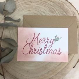 Wenskaart - Merry Christmas