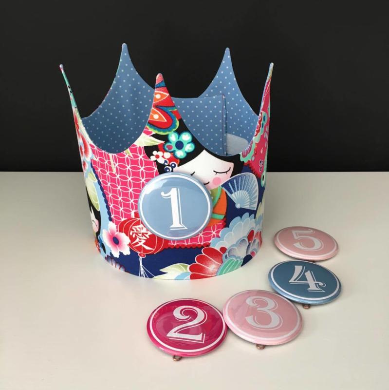 "Verjaardagskroon ""Geisha"""
