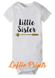 Romper - 'Little Sister'- Mt. 50-92