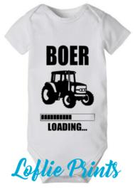 Romper - 'Boer(in) Loading' - Mt. 50-80