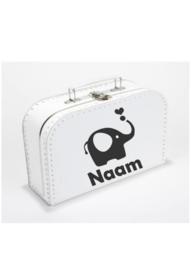 Koffer - 'Olifant + naam'