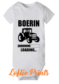 Romper - 'Boer(in) Loading' - Mt. 50-80