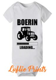 Romper - 'Boer(in) Loading' - Mt. 50-92