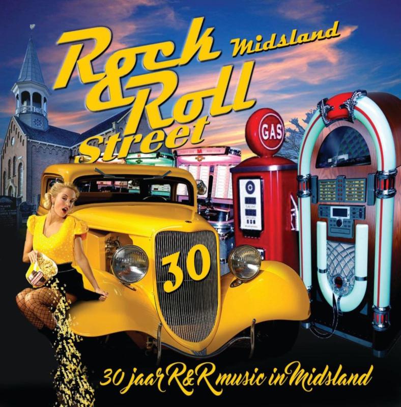 LP 30 Jaar Rock & Roll Music in Midsland