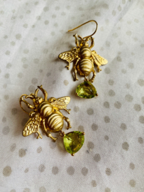 Wild bee earrings