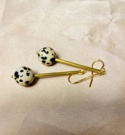 Dalmatier Jaspis earrings