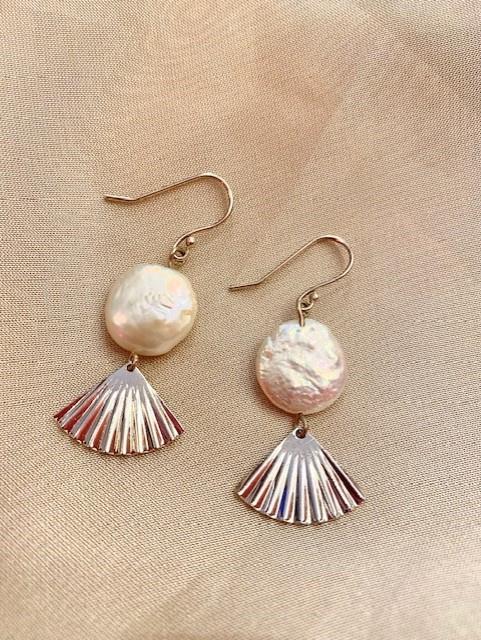 My Fan earrings