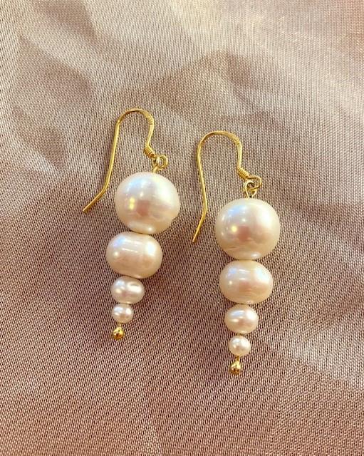 Pearlcicle earrings