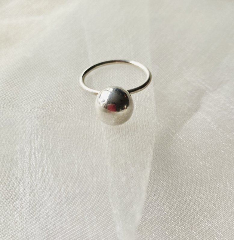 Big ball ring