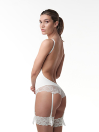 Low back lace body