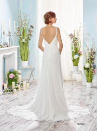 Donna: beautiful, smooth bridal dress for a smooth price: € 995