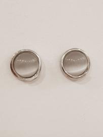 Cat's eye earrings