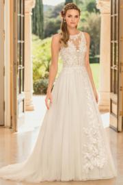 Eloise: prachtige A-lijn jurk: €1.890