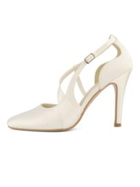 Lexi: a super comfortable satin wedding shoe