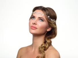 Bobo: beautiful hair jewel with rhinestones and fine flowers