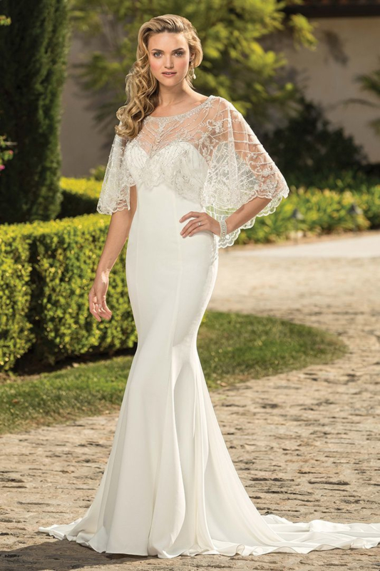 Leona: two different looks on your wedding day for € 1.650