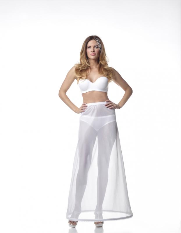 Basic petticoat 190 cm with elastic waist