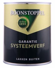 Boonstoppel Garantie Systeemverf - Alle Kleuren - 1 liter