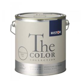 Histor The Color Collection Kalkmat - Shells Sand Grey 7515 - 2,5 liter