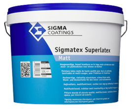 Sigma Sigmatex Superlatex Matt - Ral 9010 - 10 liter