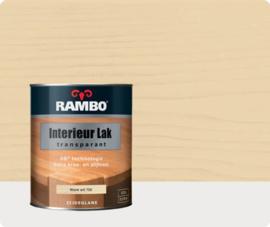 Rambo Interieur Lak Transparant Zijdeglans - Warm Wit 750 - 0,75 liter