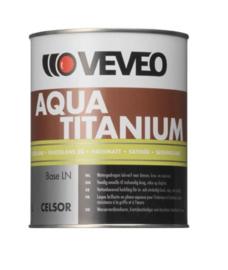 Veveo Celsor Aqua Titanium ZIJDEGLANS - WIT of lichte kleuren - 1 liter