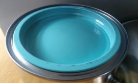 Hoogglans - Turqoiseblauw - 3 maal 0,75 liter