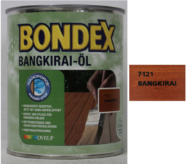 BONDEX Bankirai Olie - Bankirai öl Bankirai - 3 liter