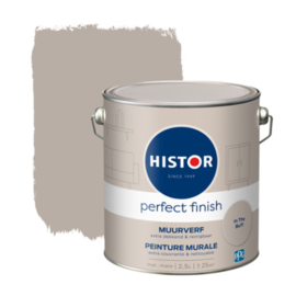 Histor Perfect Finish Muurverf Mat - In The Buff - 2,5 liter