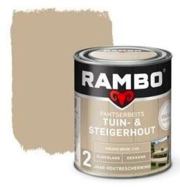 Rambo Tuin & Steigerhout - Poeder Beige 1146 - 0,75 liter
