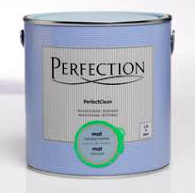 Perfection Perfect Clean Muur & Plafond Mat - Klei Grijs - 1 liter