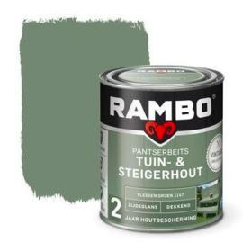 Rambo Tuin & Steigerhout - Flessen Groen 1147 - 0,75 liter
