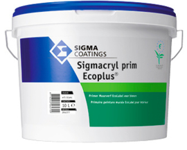 Sigmacryl Prim Ecoplus Primer - Wit - 10 liter