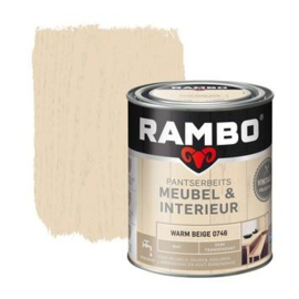 Rambo Pantserbeits Meubel & Interieur - Warm Beige 0746 - 0,75 liter