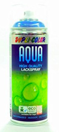 Dupli-Color Aqua - Silvergrijs ral 7001 - 400 ml