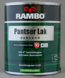 Rambo Pantserlak BF 10 Dekkend Zijdeglans - Nachtblauw 1121 - 0,75 liter