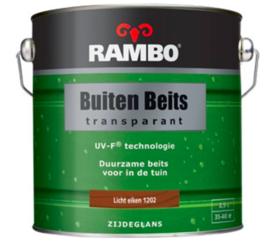Rambo Buitenbeits Transparant Zijdeglans - Licht Eiken 1202 - 2,5 liter