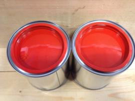 Acryl Hoogglans - Knal Rood - 1 liter