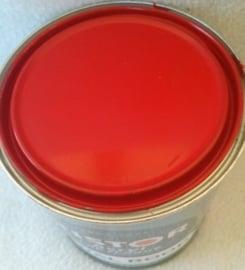 Acryl Zijdeglans - Knal Rood - 1 liter