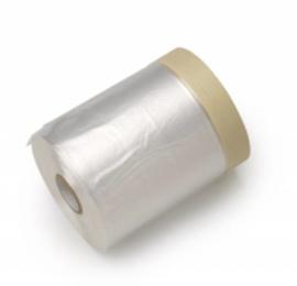 Masking Tape Geel met Folie - 55 cm * 33 meter