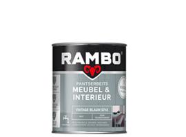 Rambo Pantserbeits Meubel & Interieur - Vintage Blauw 0745 - 0,75 liter