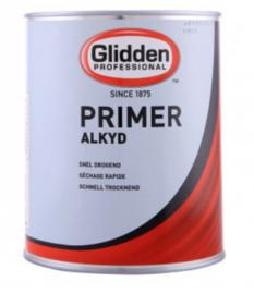 Glidden Primer - Alkyd - Voor buiten 4seizoenen onderhoud - Donkere kleuren - 2.5 liter